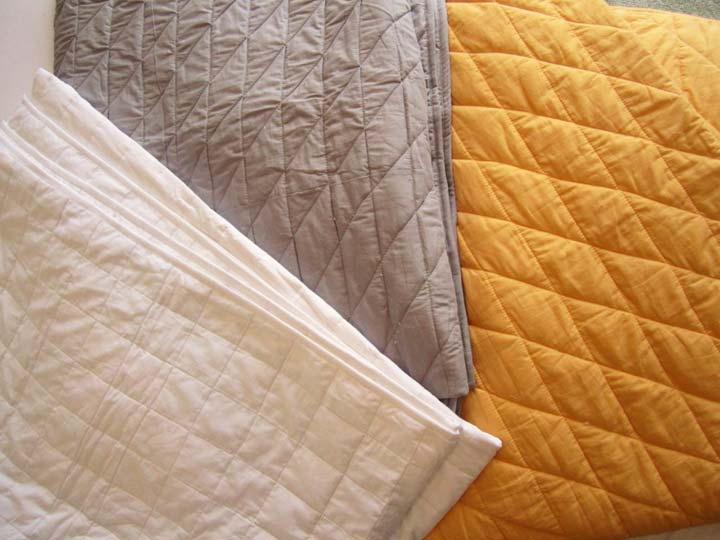 Large Quilted Throw Blanket Free Cushion Cover Handmade  : Large Quilted Throw Blanket Free Cushion Cover21 from luxuryhomeliving.com.au size 720 x 540 jpeg 51kB